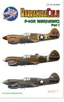 BCD32007 P-40K Warhawk
