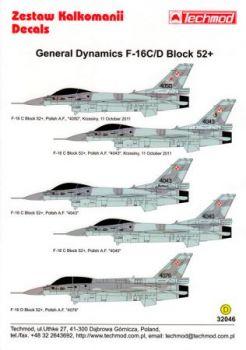 TMD32046 F-16C/D Block 52+ Fighting Falcon