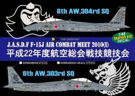DXM48101 F-15J Eagle JASDF TAC Meet 2010 inklusive stencils