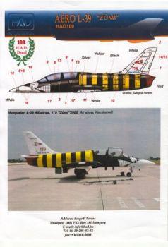 HU72100 L-39ZO Albatros Sonderanstrich ungarische Luftwaffe 2005