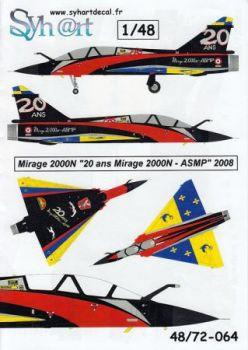 SY48064 Mirage 2000N Sonderanstrich EC1/4 Dauphine