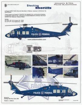 AZD4832 UH-60A Black Hawk (S-70A) mexikanische Polizei
