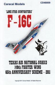 CM48009 F-16C Block 30 Fighting Falcon Lone Star Gunfighters
