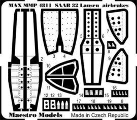 MMP4811 Saab 32 Lansen Air Brakes