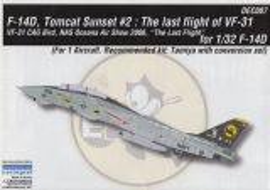 CDD3207 F-14D Super Tomcat VF-31 Tomcatters