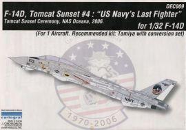 CDD3209 F-14D Super Tomcat Abschiedszeremonie