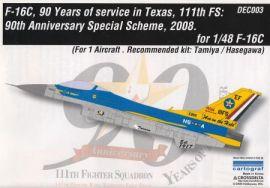 CDD4803 F-16C Fighting Falcon Jubiläumsanstrich 111th FS