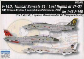 CDD4806 F-14D Super Tomcat VF-31 Tomcatters