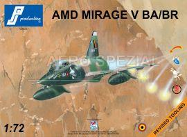 PJ721027 Mirage 5BA/BR
