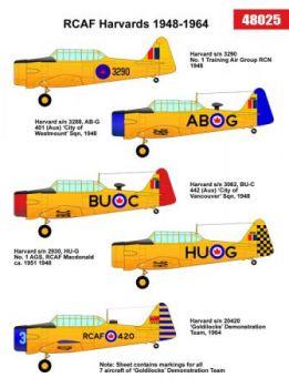 BED48025 Harvard Mk.II/4 Royal Canadian Air Force