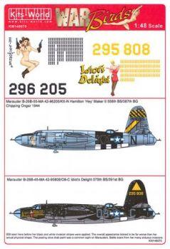 KW48070 B-26B Marauder: Hamilton Hey Maker II & Idiots Delight