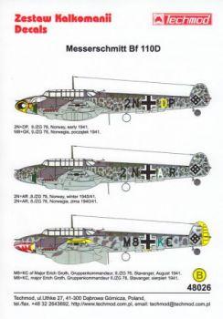 TMD48026 Bf 110 D (ZG 76)