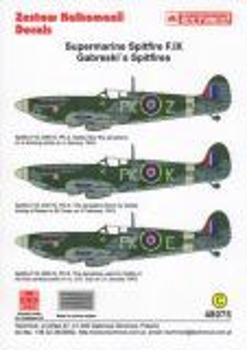 TMD48075 Spitfire F.IX Capt Gabreski