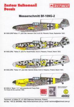 TMD48082 Bf 109 G-2 (JG 52) & Bf 109 G-2/R6 (JG 5, JG 52)