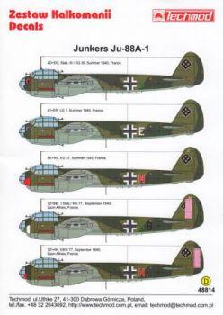 TMD48814 Ju 88 A-1 (KG 30, KG 51, KG 77, LG 1)