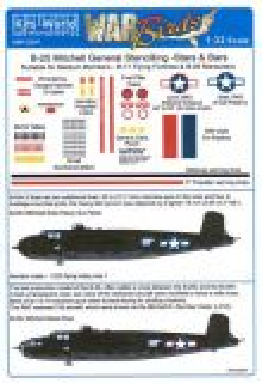 KW132047 B-25 Mitchell General Markings