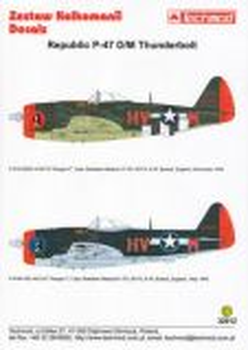 TMD32012 P-47D/M Thunderbolt Capt. Gladych