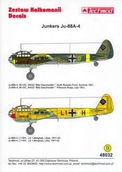 TMD48032 Ju 88 A-4: KG 3 & LG 1