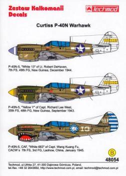 TMD48054 P-40N-5 Warhawk