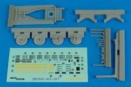 AB32015 MHU-191/M Munitionstransporter mit Aero 58 Adapter