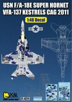 DXM48008 F/A-18E Super Hornet Digital-Tarnung VFA-137 Kestrels