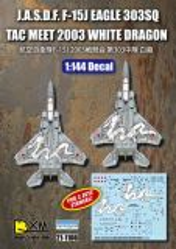 DXM14006 F-15J Eagle JASDF White Dragon