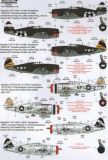 XD72153 P-47C/D Thunderbolt Bomber Formations-Monitore