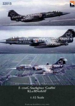 DD32015 F-104G Starfighter Dutch Graffiti