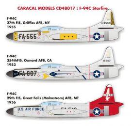 CD48017 F-94C Starfire U.S. Air Force 1953-1956