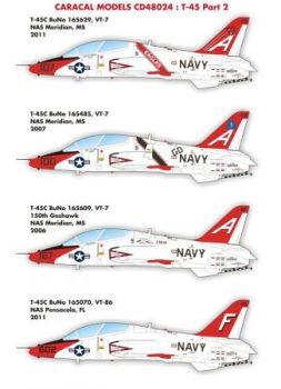 CM48024 T-45C Goshawk VT-7 & VT-86