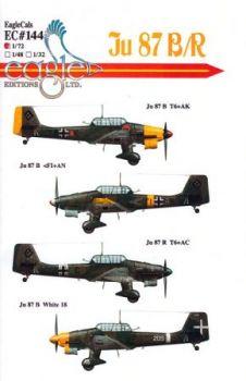 ECD72144 Ju 87 B-2/R-2 St.G. 2, St.G. 77 & 96 Gruppo
