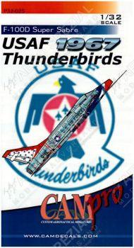 CPS3225 F-100D Super Sabre Thunderbirds 1967