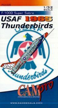 CPS3226 F-100D Super Sabre Thunderbirds 1965