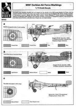 BR7402 Serbische Luftwaffe WK I