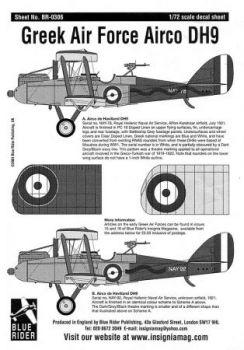 BR7306 Airco D.H.9