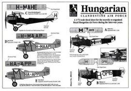 BR7223 Ungarische Luftwaffe 1919-34
