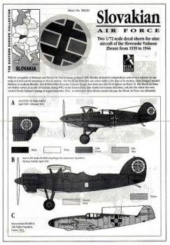 BR7220 Slowakische Luftwaffe 1939-1944