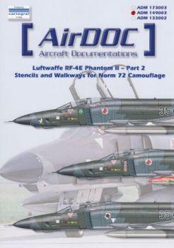 ADMS493 RF-4E Phantom II Stencils Norm 72
