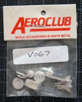 AEV067 Venom Fahrwerk-Set und Pilotensitze