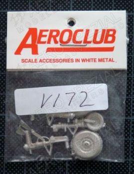 AEV172 RA-5 Vigilante Fahrwerk-Set