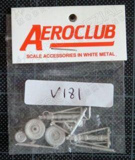 AEV181 F-106 Delta Dart Fahrwerk-Set