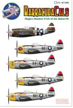 BCD72038 P-47D Thunderbolt 379th FS/362nd FG