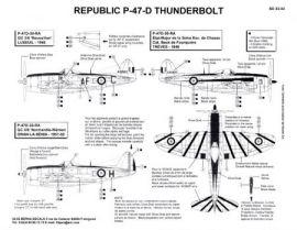 BD32002 P-47D Thunderbolt