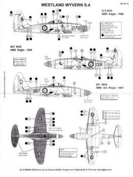 BD48016 Wyvern S.4 Fleet Air Arm