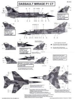 BD48046 Mirage F1CT (EC 1/30, EC 2/30, EC 3/13)