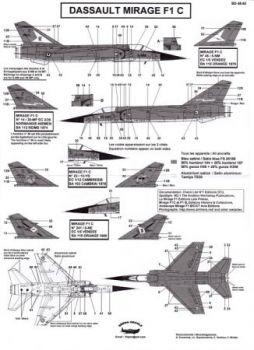 BD48050 Mirage F1C (EC 1/5, EC 1/12, EC 2/30)