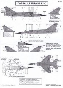 BD48051 Mirage F1C (EC 2/5, EC 2/12)