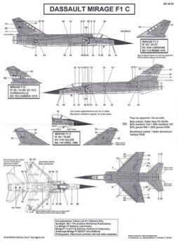 BD48052 Mirage F1C (EC 1/10, EC 3/12, EC 3/30)