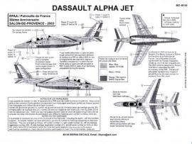 BD48054 Alpha Jet E EPAA/Patrouille de France