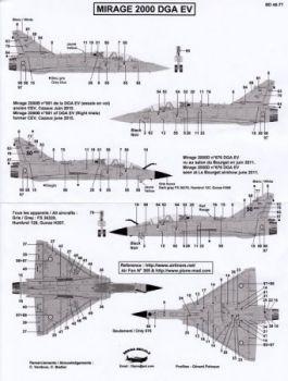 BD48077 Mirage 2000B/D DGA EV (Flight Trials)